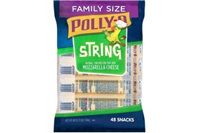 Polly-O Lmps String Cheese - 48Ct