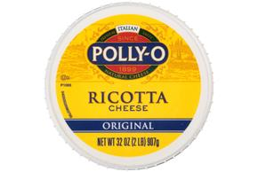 Polly-O Original Whole Milk Ricotta Cheese 32Z Tub
