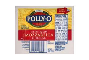 Polly-O Part Skim Mozzarella 8Z Wrapped