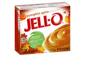 Jell-O Pudding-Instant Pumpkin 3.4 Oz Box