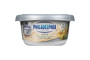 Philadelphia Olive Cream Cheese Spread 8 Oz. Tub
