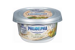 Philadelphia Olive Cream Cheese Spread 8 Oz. Tub