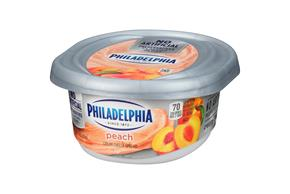 Philadelphia Peach Cream Cheese Spread 7.5 Oz. Tub