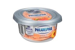 Philadelphia Peach Cream Cheese Spread 8 Oz. Tub
