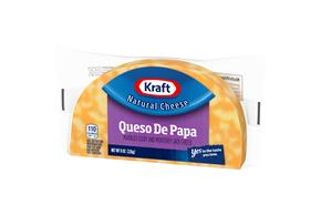 Kraft Colby & Monterey Jack Half Moon Natural Cheese Block  8 Oz Vacuum Packed