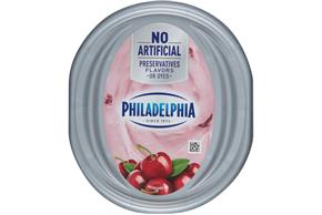Philadelphia Black Cherry Cream Cheese Spread 7.5 Oz. Tub