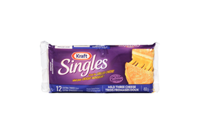 Kraft Singles Grilled Cheese Mild 3-Cheese