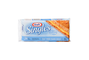 Kraft Singles Fat Free Cheese Slices