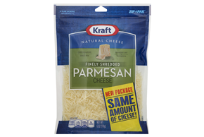 Kraft Finely Shredded Parmesan Cheese - 6Oz