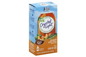Crystal Light Peach Iced Tea On the Go Drink Mix 10-0.07 oz. Packets