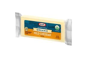Kraft 7 Oz Cheese Organic White Cheddar     1 Wrapper Each