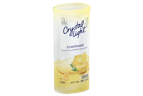 CRYSTAL LIGHT MULTISERVE Lemonade Sugar Free 3.2 oz. Packet