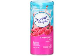 Crystal Light 1.3 Oz Soft Drink-Powdered  Raspberry Ice     12 Tray Case
