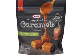 Kraft Candy Kitchen Caramels 8Oz - Caramel Apple