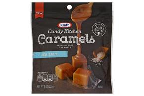 Kraft Candy Kitchen Caramels 8Oz - Sea Salt