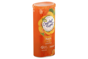 CRYSTAL LIGHT MULTISERVE Peach Tea Sugar Free 1.5 oz. Packet