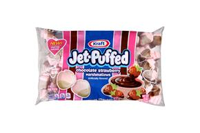 Jet-Puffed Chocolate Strawberry Mallows Seasonal Marshmallows 8Oz Bag