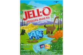 Jell-O Jigglers Zoo Mold Kit With Berry Blue & Lemon Gelatin Desserts