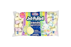 Jet-Puffed Candy Egg Mallows Seasonal Marshmallows 14 oz Bag