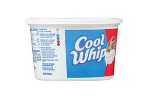 Cool Whip Extra Creamy Whipped Topping-Frozen 12 Oz. Plastic Tub