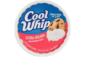 Cool Whip Extra Creamy Whipped Topping-Frozen 8 Oz. Tub
