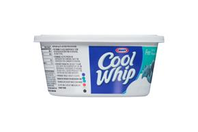 Cool Whip Free Whipped Topping-Frozen 8 Oz. Plastic Tub