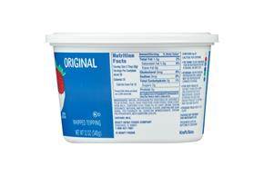 Cool Whip Original Whipped Topping-Frozen 12 Oz. Tub