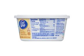 Cool Whip Season's Delight French Vanilla Whipped Topping-Frozen 8 Oz. Plastic Tub