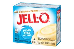 Jell-O Pudding-Instant Banana Sugar Free Fat Free 0.9 Oz Box
