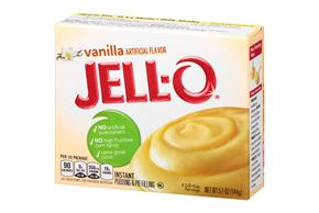 Jell-O  Pudding-Instant  Vanilla 5.1 Oz Box