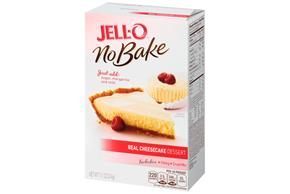 Jell-O No Bake Real Cheesecake Dessert Mix 11.1 Oz Box