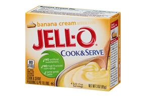Jell-O Pudding-Cook & Serve  Banana  3 Oz Box
