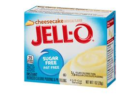Jell-O  Pudding-Instant Cheesecake Sugar Free 1 Oz Box