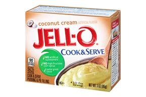 Jell-O Pudding-Cook & Serve Coconut 3 Oz Box