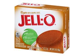 Jell-O Flan 3 Oz Box
