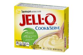 Jell-O Pudding-Cook & Serve Lemon 4.3 Oz Box