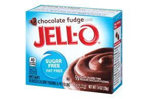 Jell-O  Pudding-Instant Chocolate Fudge Sugar Free Fat Free 1.4 Oz