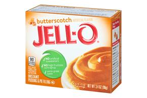 Jell-O Pudding-Instant Butterscotch 3.4 Oz Box