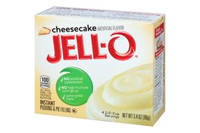 Jell-O Pudding-Instant Cheesecake 3.4 Oz Box