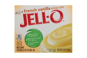 Jell-O Pudding-Instant  French Vanilla 3.4 Oz Box