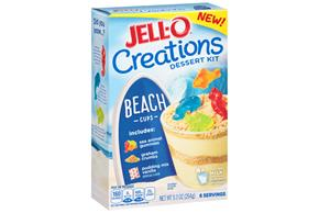 Jell-O Creation Kits Beach Cups 9.3Oz