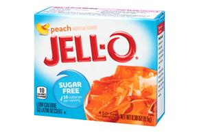 Jell-O  Gelatin  Peach Sugar Free 0.3 Oz Box
