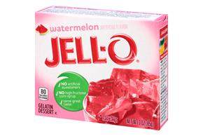Jell-O  Gelatin Watermelon 3 Oz Box
