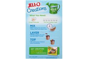 Jell-O Creation Kits Oreo Dirt Cups 10.1Oz