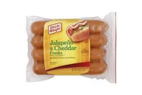 OSCAR MAYER Premium Jalapeno & Cheddar Franks
