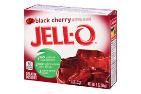 Jell-O  Gelatin  Black Cherry 3 Oz Box