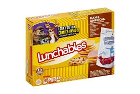 LUNCHABLES 36 OZ CONVENIENCE MEALS  HAM AND AMERICAN AND TURKEY AND AMERICAN 4 WRAPPER INNER PACK