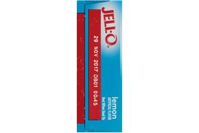 Jell-O Gelatin Lemon Sugar Free 0.3 Oz Box