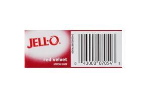Jell-O Pudding-Instant Red Velvet 3.4Oz Box