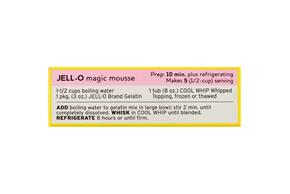 Jell-O Gelatin Cherry Lemonade 3Oz Box